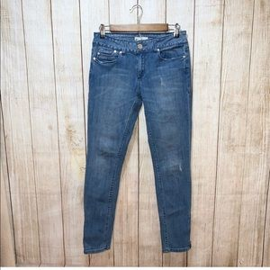 Anthropologie | Silence & Noice ankle zip jeans